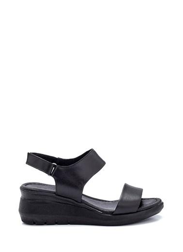 Derimod Kadın Sandalet (12) Konfor Siyah